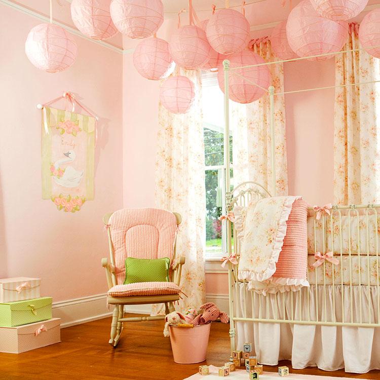 Idee per decorare la cameretta dei neonati n.09