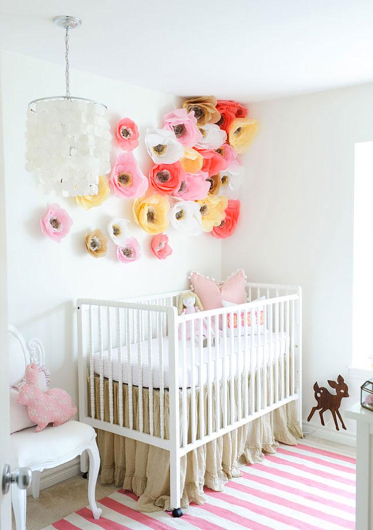 Idee per decorare la cameretta dei neonati n.10