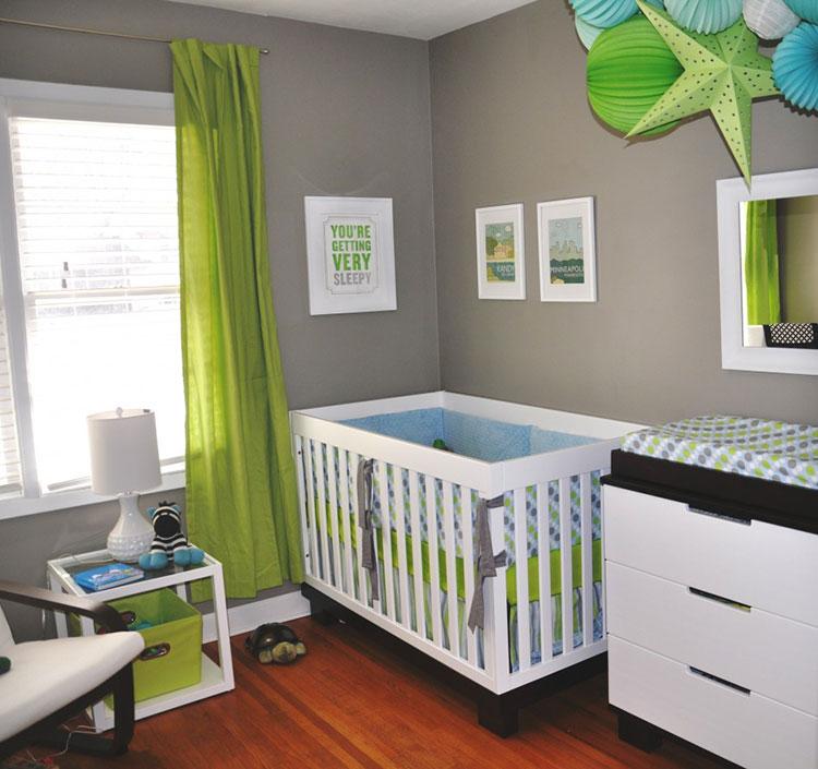 Idee per decorare la cameretta dei neonati n.11