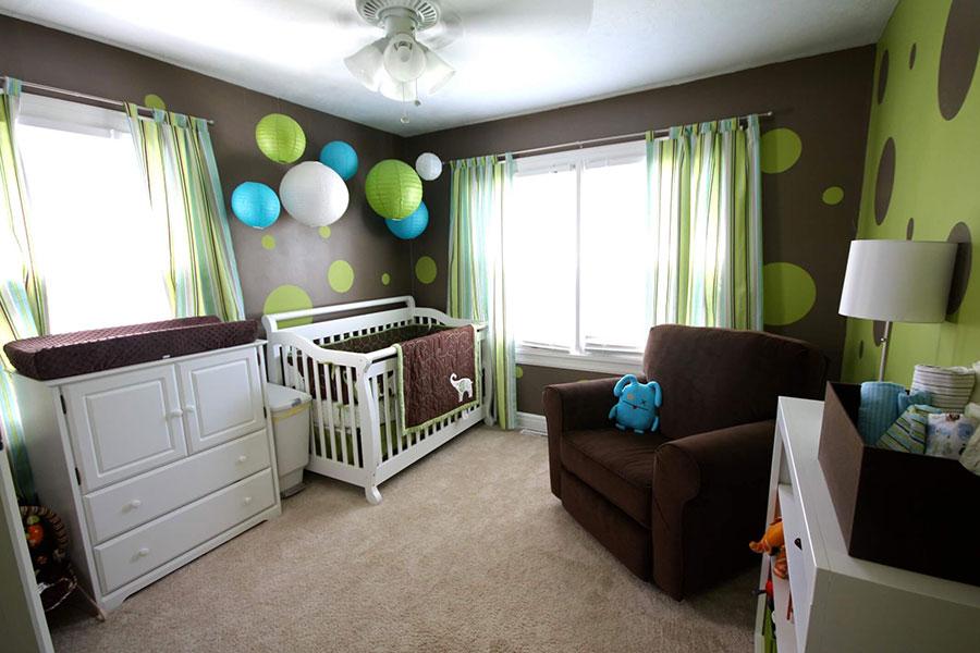Idee per decorare la cameretta dei neonati n.13