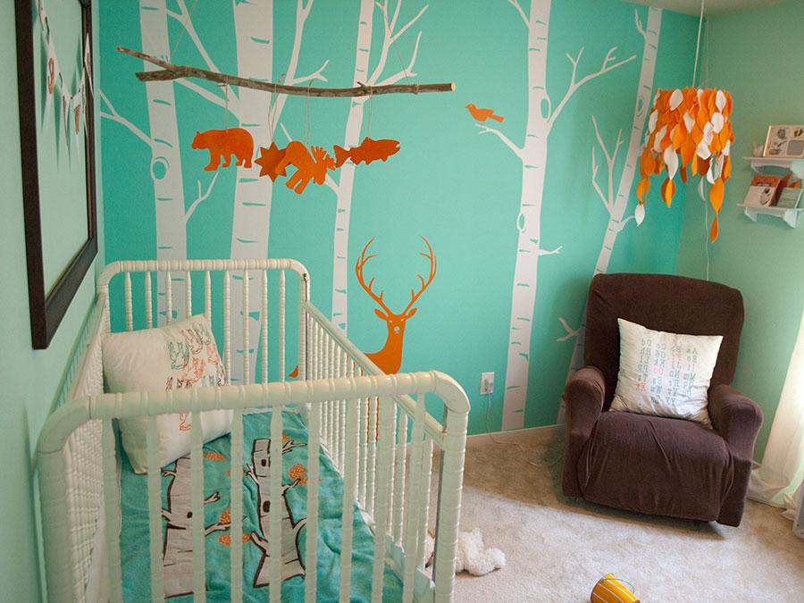 Idee per decorare la cameretta dei neonati n.14