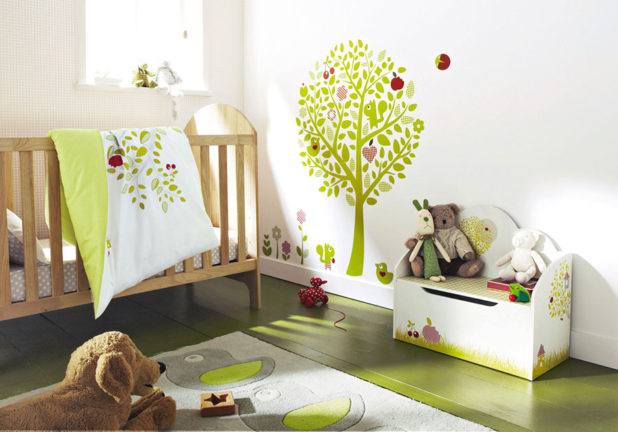 Idee per decorare la cameretta dei neonati n.15