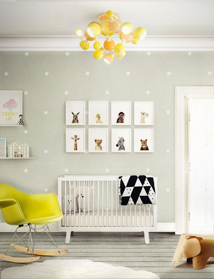 Idee per decorare la cameretta dei neonati n.17