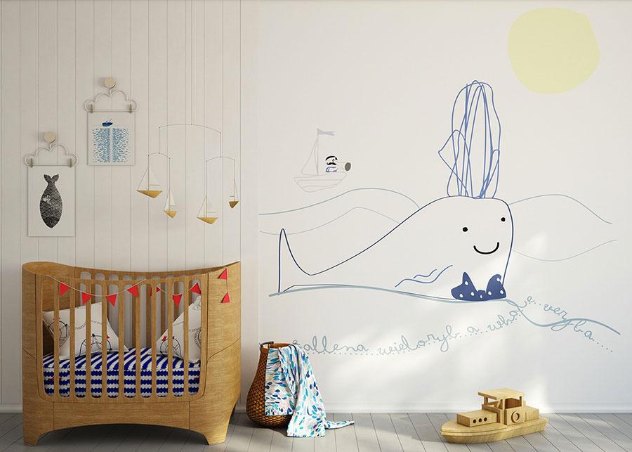 Idee per decorare la cameretta dei neonati n.19