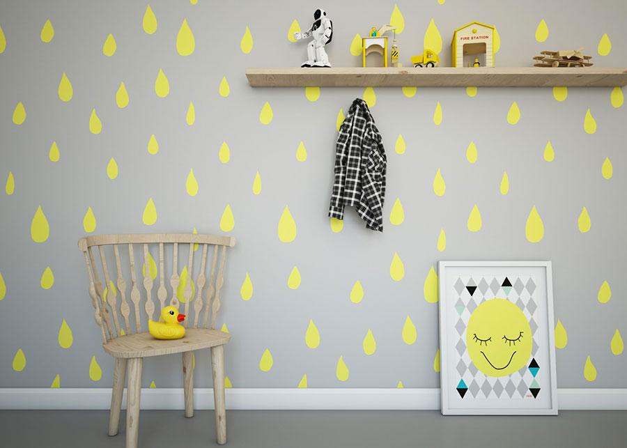 Idee per decorare la cameretta dei neonati n.20