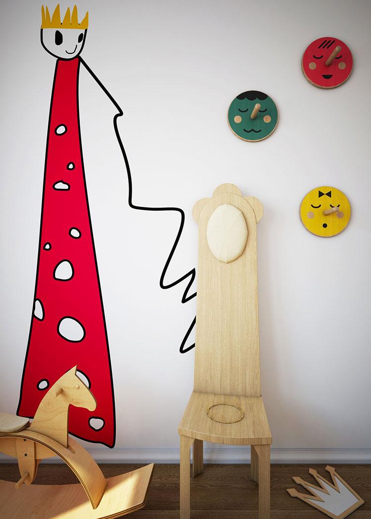 Idee per decorare la cameretta dei neonati n.21