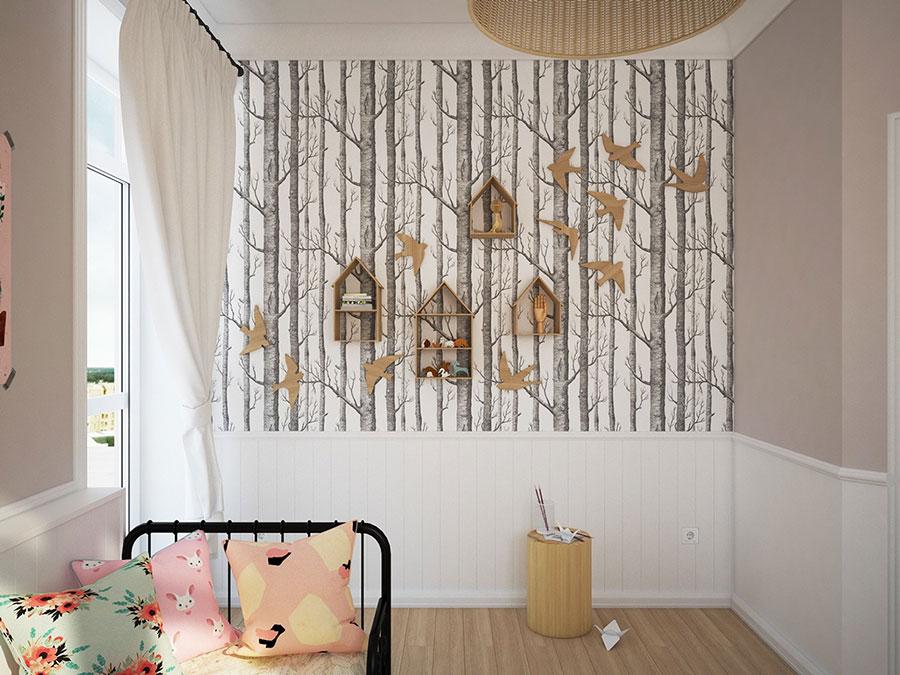 Idee per decorare la cameretta dei neonati n.23