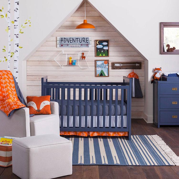 Idee per decorare la cameretta dei neonati n.24