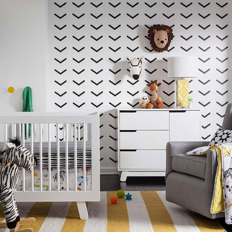 Idee per decorare la cameretta dei neonati n.25