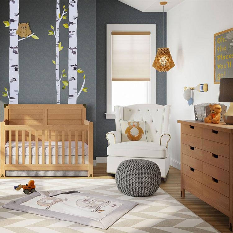 30 idee per decorare la cameretta dei neonati con allegria for Idee per decorare