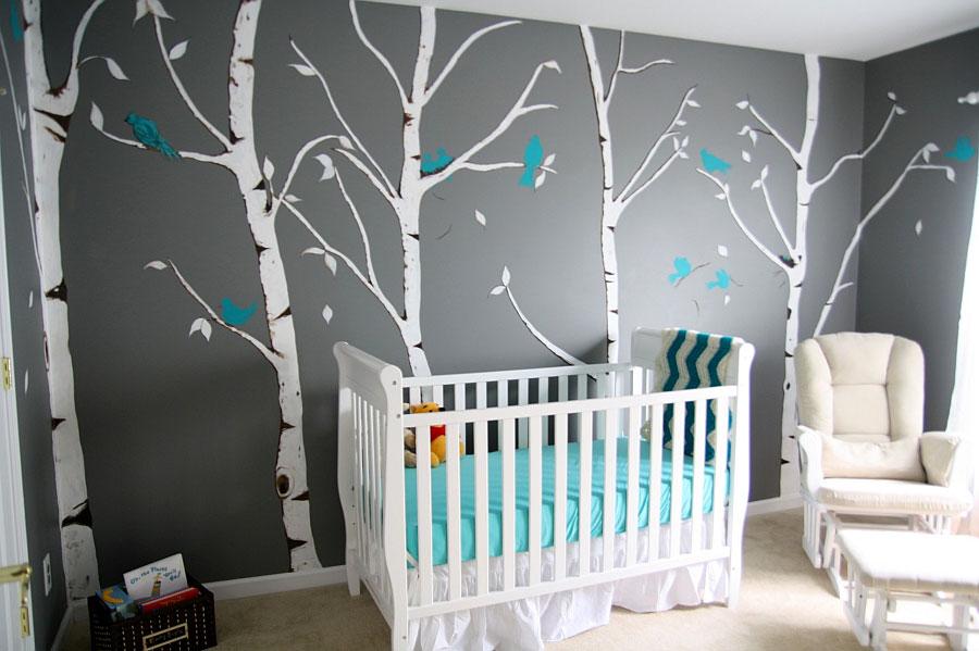 Idee per decorare la cameretta dei neonati n.27