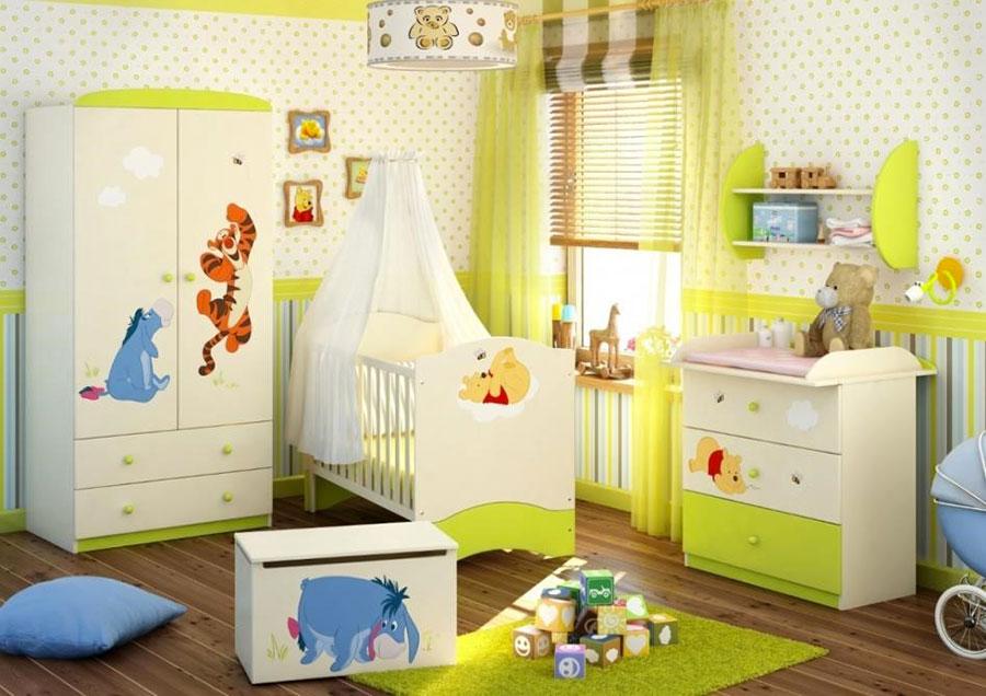 Idee per decorare la cameretta dei neonati n.28
