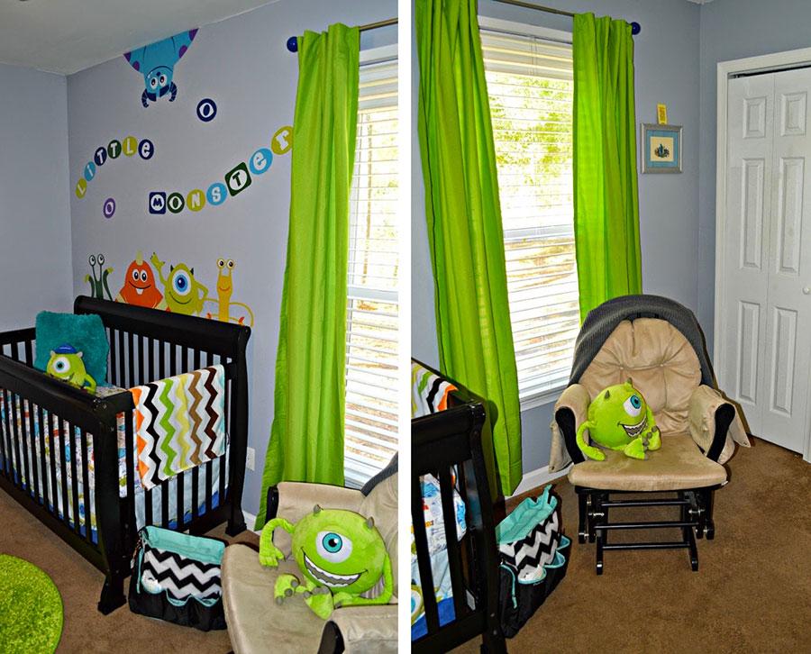 Idee per decorare la cameretta dei neonati n.30