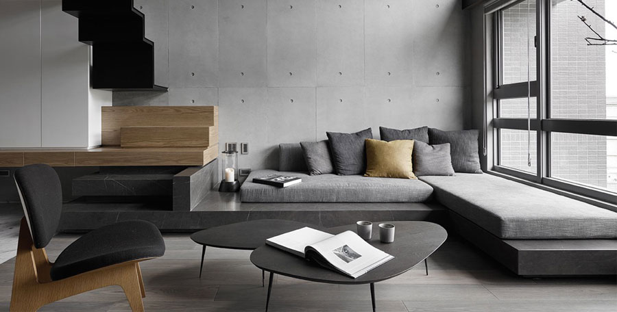 Come arredare un soggiorno grigio