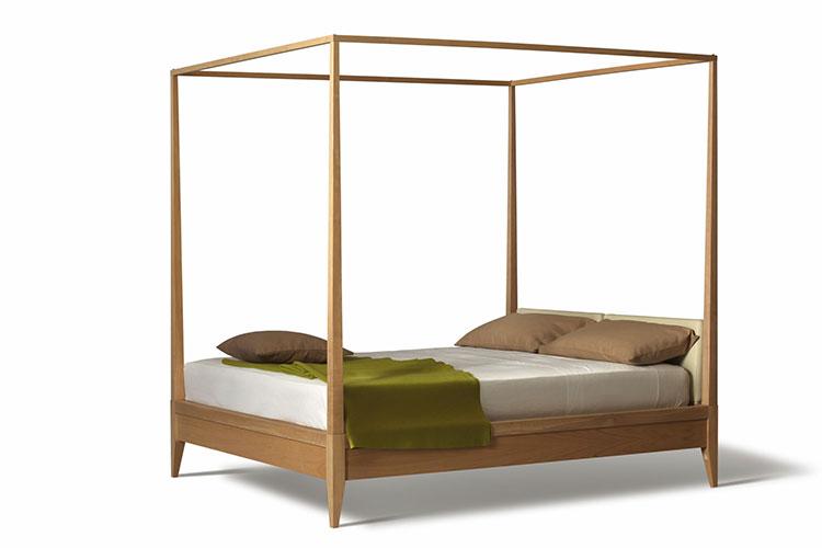 Modello di letto a baldacchino dal design moderno n.04