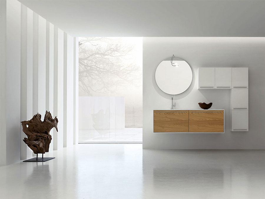 Modello di mobile bagno minimal n.03