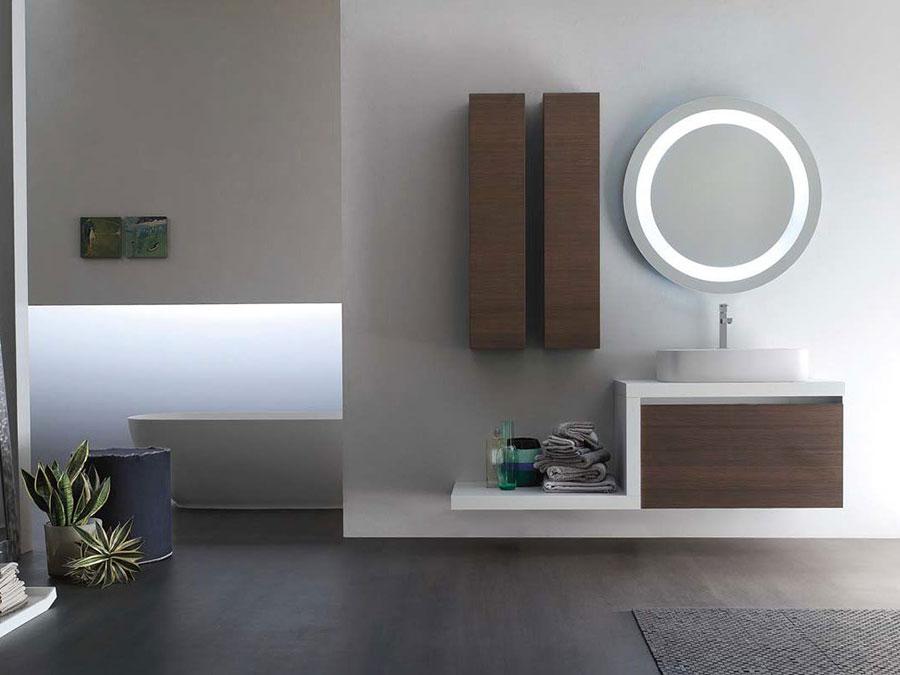 Modello di mobile bagno minimal n.04
