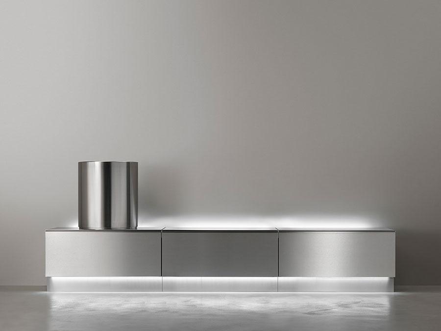 Modello di mobile bagno minimal n.06