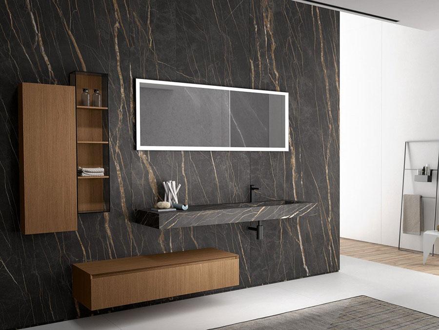 Modello di mobile bagno minimal n.12