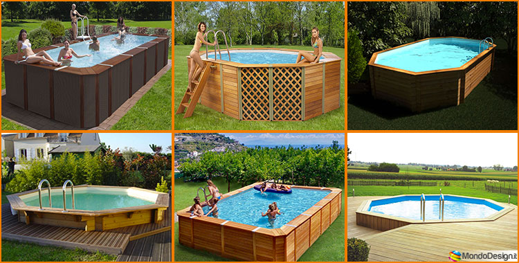 20 modelli di piscine fuori terra in legno - Quanto costa mantenere una piscina fuori terra ...
