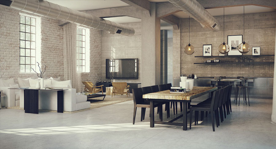 30 Idee per Arredare Salotto e Sala da Pranzo Insieme | MondoDesign.it