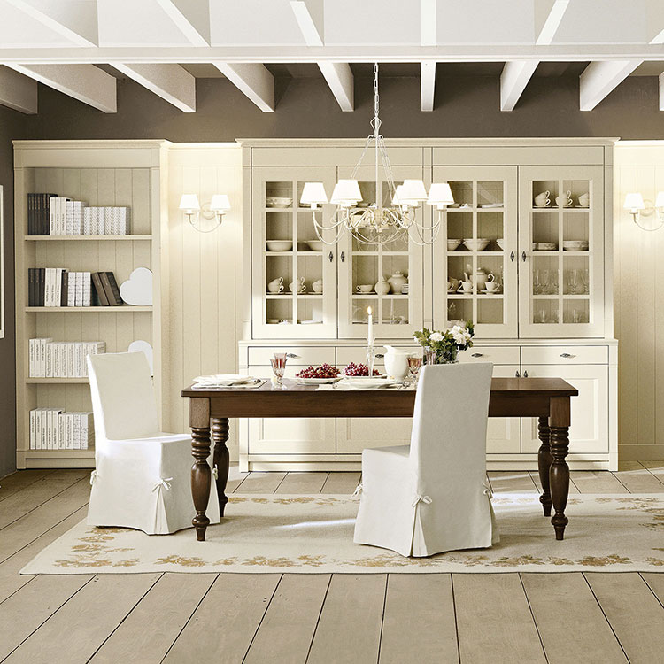 Sala da pranzo classica 25 idee per arredare con gusto for Stanza da pranzo moderna