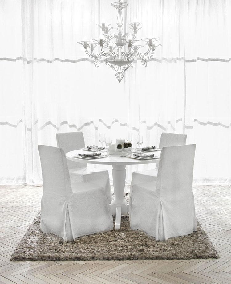 Arredamento per sala da pranzo classica n.03