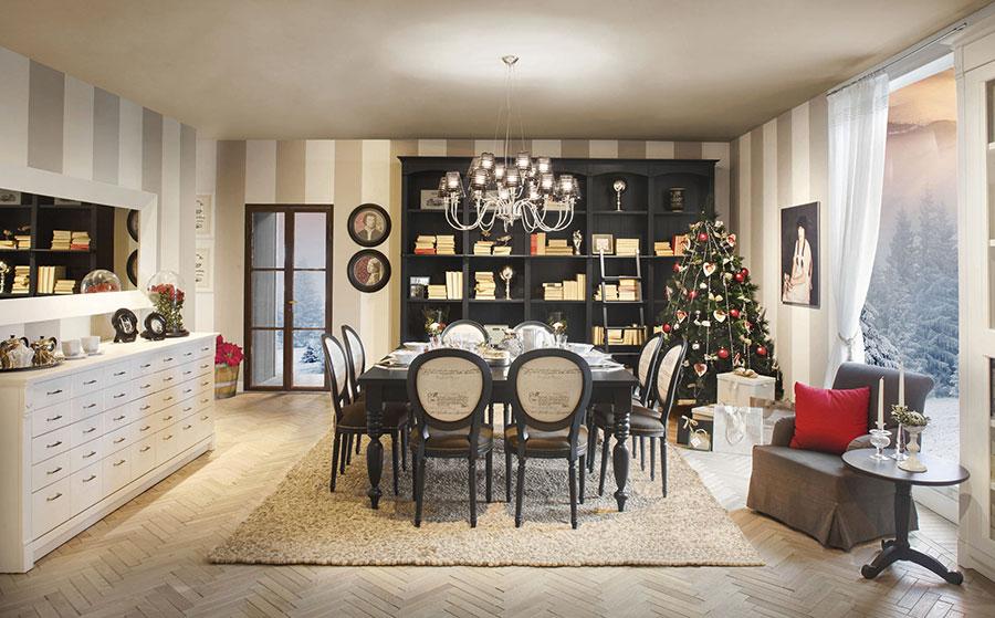Perfect arredamento per sala da pranzo classica n with - Tende per sala da pranzo ...