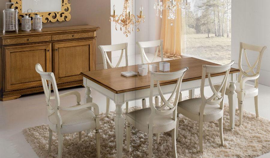 Sala da pranzo classica 25 idee per arredare con gusto - Tende per sala da pranzo classica ...