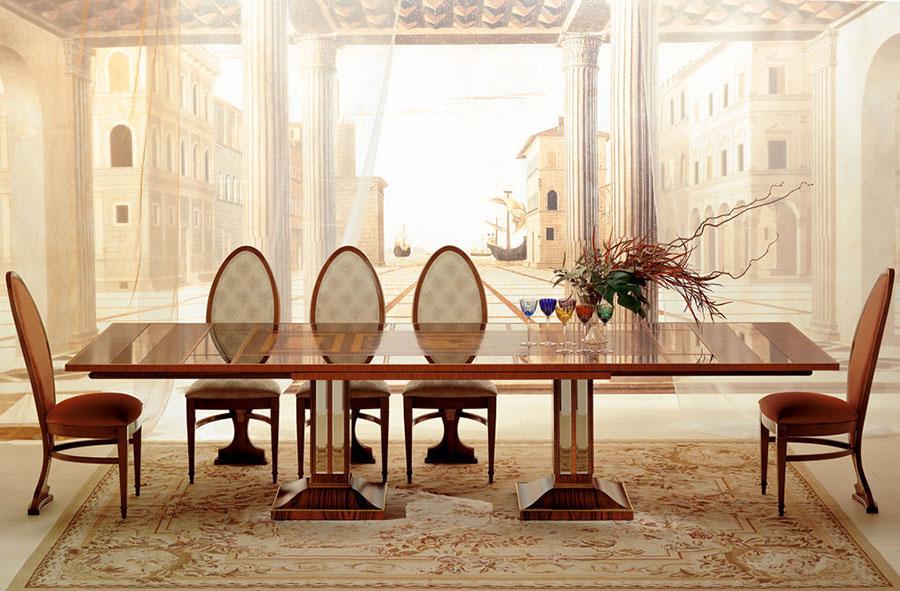Arredamento per sala da pranzo classica n.15