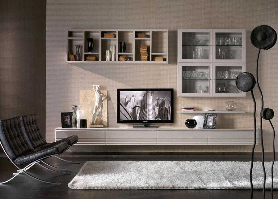 Idee per arredare un soggiorno classico moderno bianco n.05