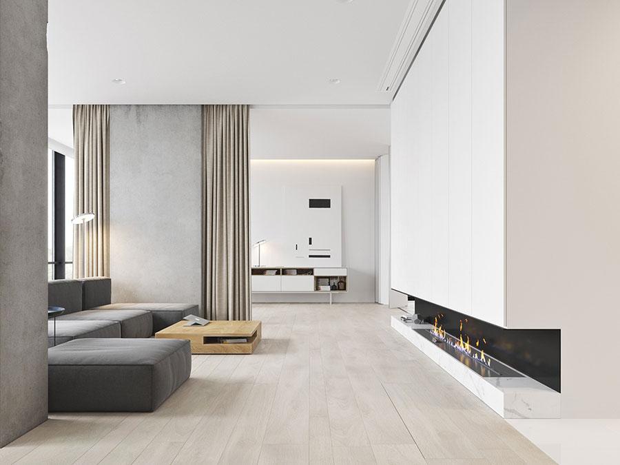 Idee di arredamento per un soggiorno minimal n.09