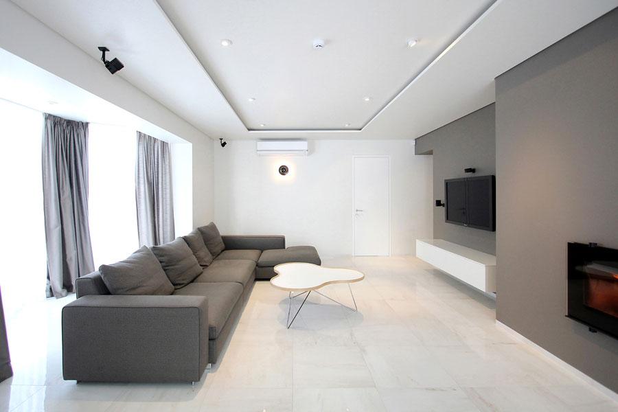Idee di arredamento per un soggiorno minimal n.14