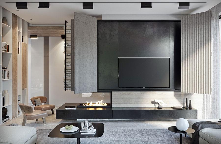 arredamento minimal chic: tante idee per una casa dal design ... - Mobili Soggiorno Minimal 2
