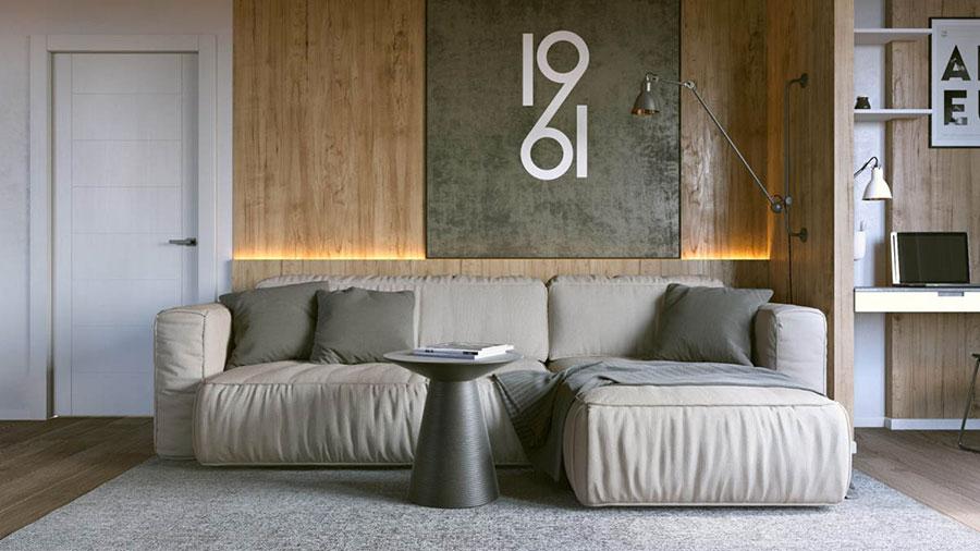 Progetto di arredo per una casa di 70 mq n.01