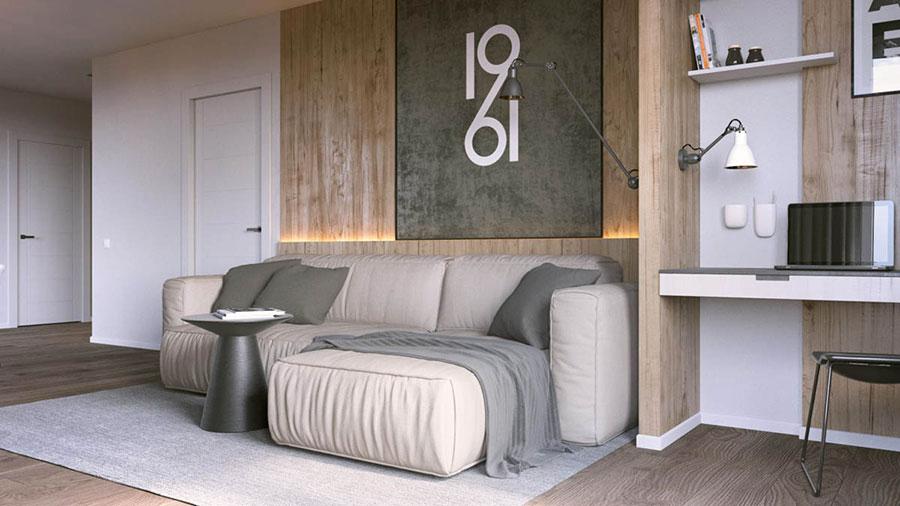 Progetto di arredo per una casa di 70 mq n.02
