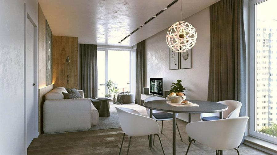 Progetto di arredo per una casa di 70 mq n.05