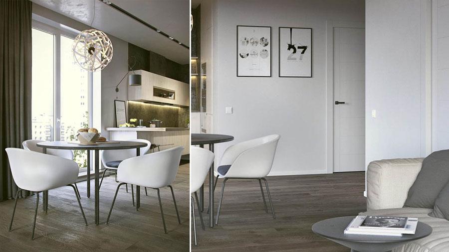 Progetto di arredo per una casa di 70 mq n.06