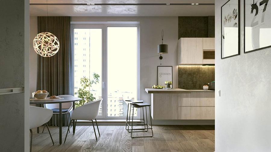 Come arredare una casa di 70 mq ecco 3 progetti - Progetto casa 80 mq ...
