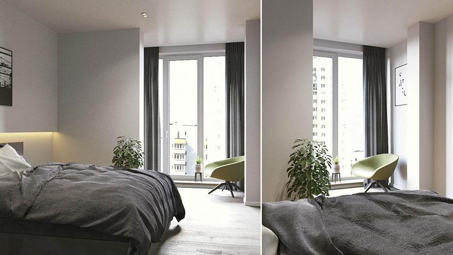 Progetto di arredo per una casa di 70 mq n.09
