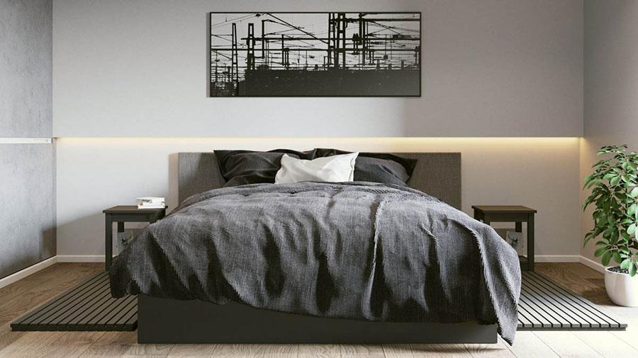 Progetto di arredo per una casa di 70 mq n.10