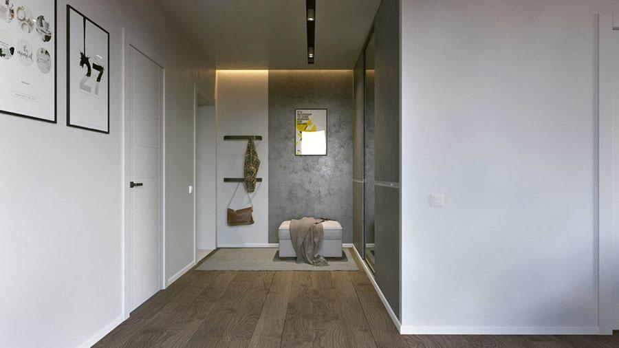Progetto di arredo per una casa di 70 mq n.11