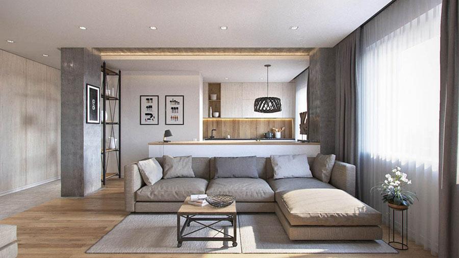Progetto Di Arredo Per Una Casa Di 70 Mq N.13