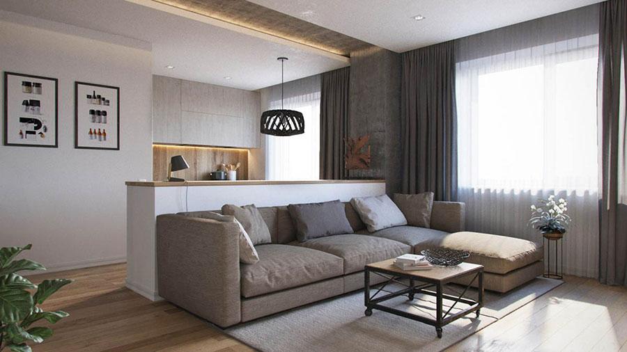 Progetto di arredo per una casa di 70 mq n.14