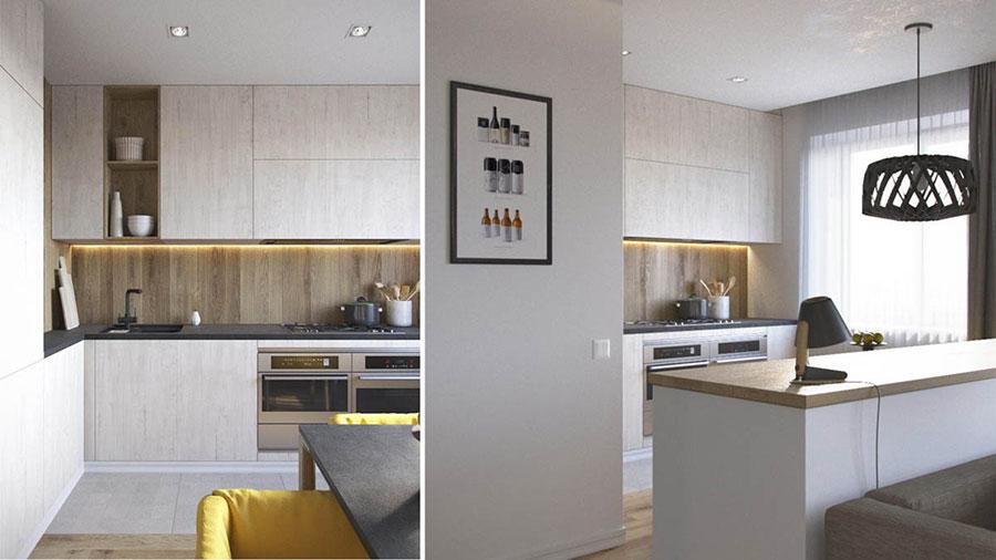 Progetto di arredo per una casa di 70 mq n.16