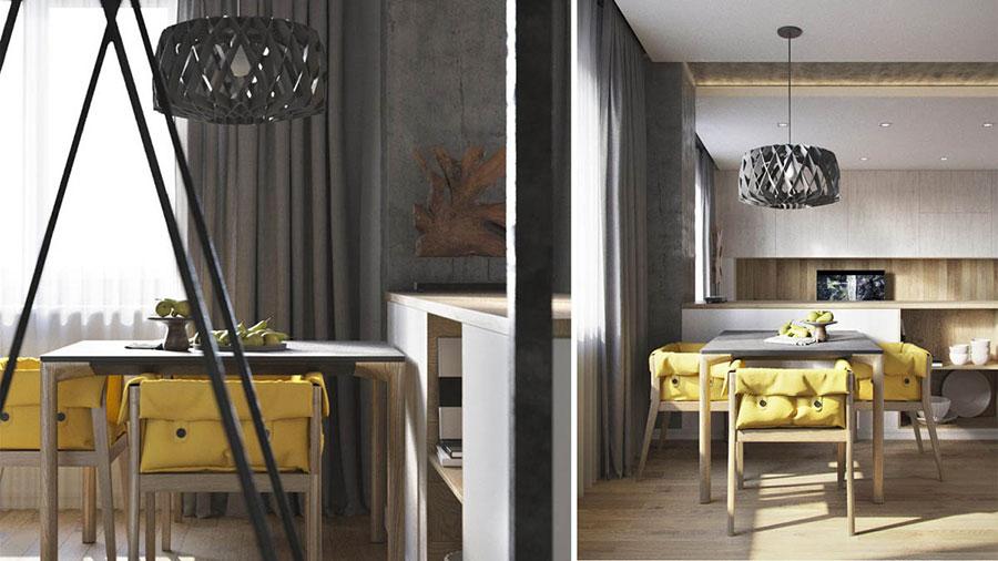 Progetto di arredo per una casa di 70 mq n.17