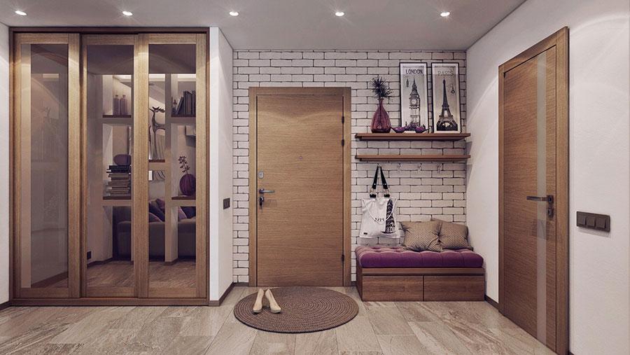 Progetto di arredo per una casa di 70 mq n.30
