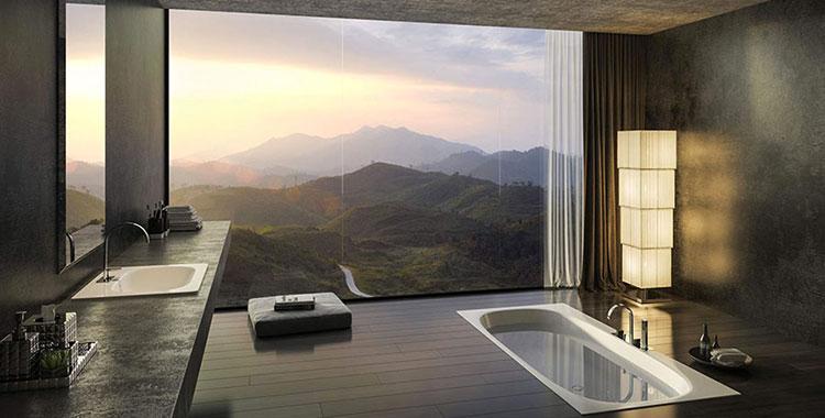 Bagni Di Lusso Moderni Ecco 25 Progetti Dal Design Sorprendente Mondodesign It