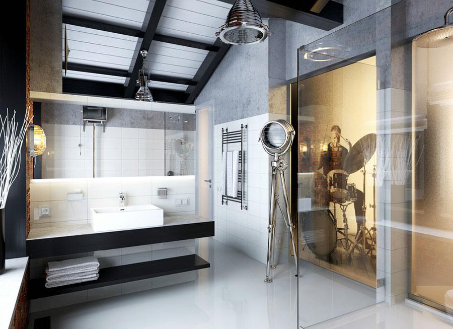 Bagno di lusso moderno dal design unico n.12