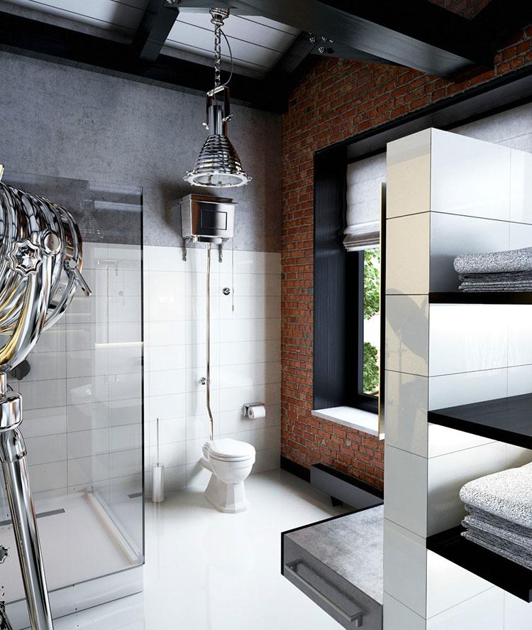 Bagno di lusso moderno dal design unico n.14